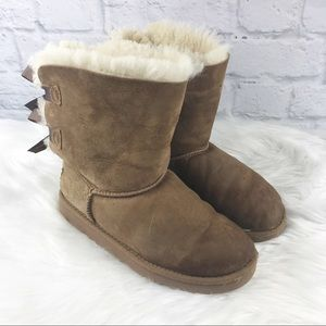 UGG Bailey Bow Boots 💜For Little Girl 💜